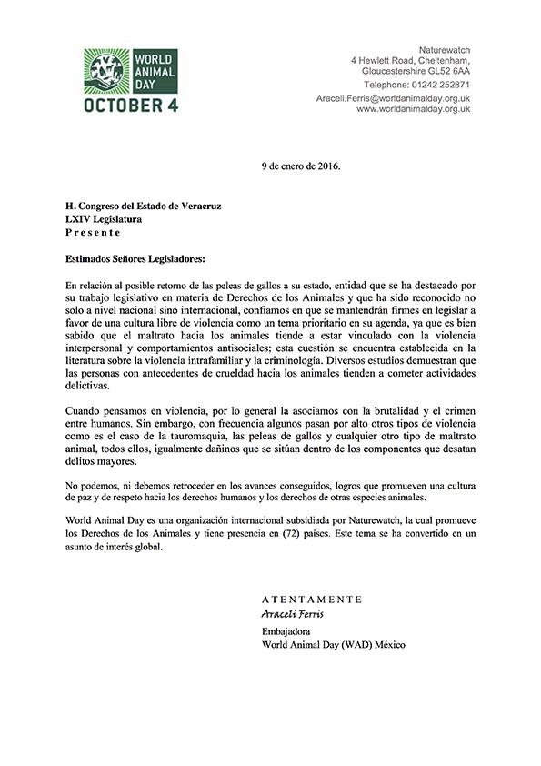 Carta WAD a legisladores Veracruz 2017 PDF